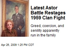Latest Astor Battle Restages 1959 Clan Fight