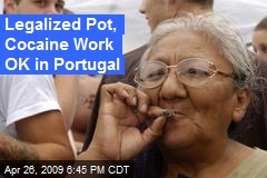 Legalized Pot, Cocaine Work OK in Portugal