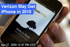 Verizon May Get iPhone in 2010