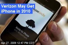 Verizon May Get iPhone in 2010