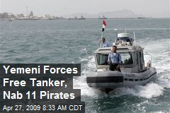 Yemeni Forces Free Tanker, Nab 11 Pirates
