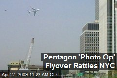 Pentagon 'Photo Op' Flyover Rattles NYC