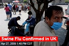 Swine Flu Confirmed in UK