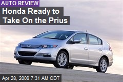 Honda Ready to Take On the Prius
