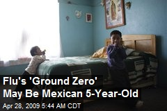 Flu's 'Ground Zero' May Be Mexican 5-Year-Old