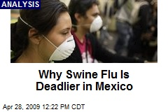 Why Swine Flu Is Deadlier in Mexico