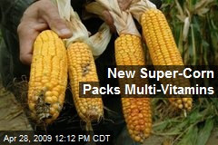 New Super-Corn Packs Multi-Vitamins