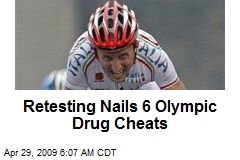 Retesting Nails 6 Olympic Drug Cheats