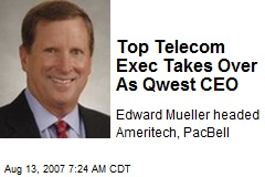 Top Telecom Exec Takes Over As Qwest CEO