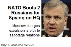 NATO Boots 2 Russians for Spying on HQ