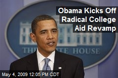 Obama Kicks Off Radical College Aid Revamp