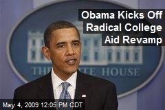 Obama Kicks Off Radical College Aid Revamp