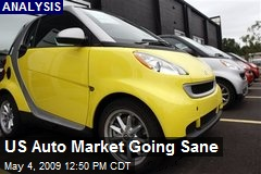 US Auto Market Going Sane