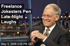 Freelance Jokesters Pen Late-Night Laughs