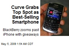 Curve Grabs Top Spot as Best-Selling Smartphone