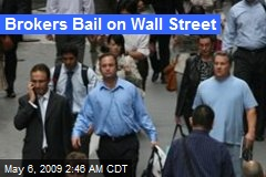 Brokers Bail on Wall Street