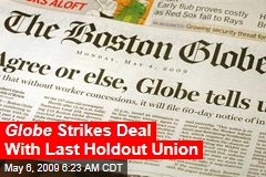 Globe Strikes Deal With Last Holdout Union