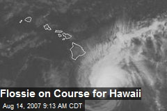 Flossie on Course for Hawaii