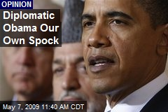 Diplomatic Obama Our Own Spock