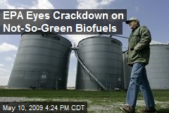 EPA Eyes Crackdown on Not-So-Green Biofuels