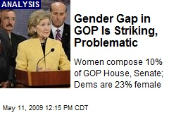 Gender Gap in GOP Is Striking, Problematic