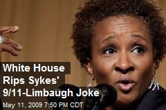 White House Rips Sykes' 9/11-Limbaugh Joke