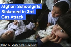 Afghan Schoolgirls Sickened in 3rd Gas Attack
