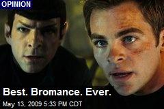 Best. Bromance. Ever.