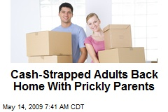 Cash-Strapped Adults Back Home With Prickly Parents