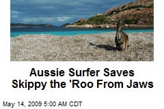 Aussie Surfer Saves Skippy the 'Roo From Jaws