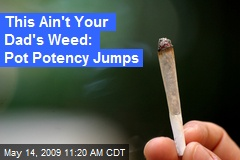 This Ain't Your Dad's Weed: Pot Potency Jumps