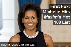 First Fox: Michelle Hits Maxim 's Hot 100 List