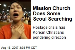 Mission Church Does Some Seoul Searching