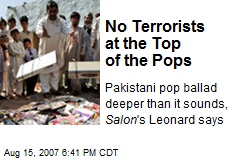 No Terrorists at the Top of the Pops