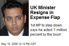 UK Minister Resigns in Expense Flap