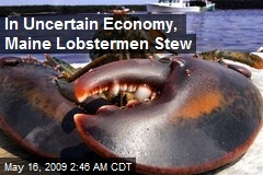 In Uncertain Economy, Maine Lobstermen Stew