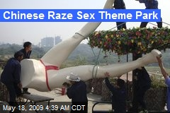 Chinese Raze Sex Theme Park