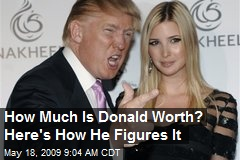 news much donald trump worth
