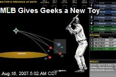 MLB Gives Geeks a New Toy