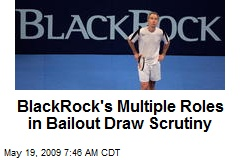 BlackRock's Multiple Roles in Bailout Draw Scrutiny