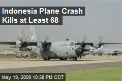 Indonesia Plane Crash Kills at Least 68