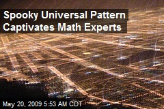Spooky Universal Pattern Captivates Math Experts