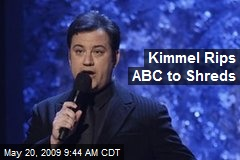Kimmel Rips ABC to Shreds