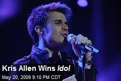 Kris Allen Wins Idol