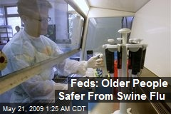 Feds: Older People Safer From Swine Flu