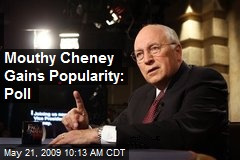 Mouthy Cheney Gains Popularity: Poll
