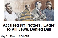 Accused NY Plotters, 'Eager' to Kill Jews, Denied Bail