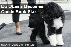 Bo Obama Becomes Comic Book Star