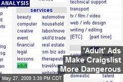 'Adult' Ads Make Craigslist More Dangerous