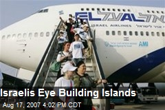 Israelis Eye Building Islands